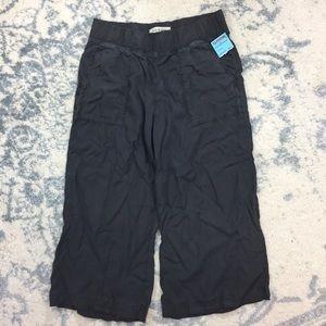 Cloth & Stone Wide Leg Tencel Cropped Pants